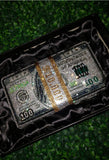 Crystal Cash Money Clutch Purse
