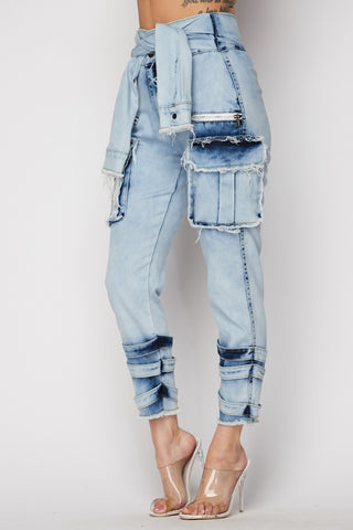 One of a Kind Denim Pants