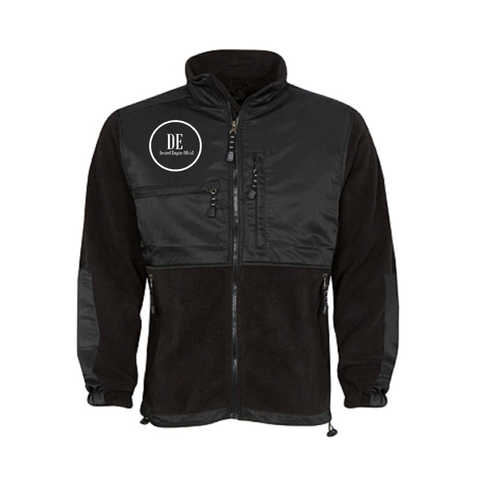 Black on Black Fleece Jacket