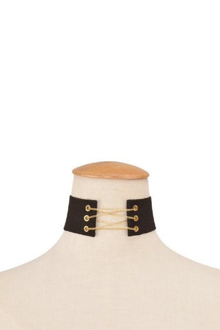 Golden Chain Corset Choker