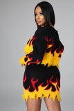 Fire Fit Skirt Set