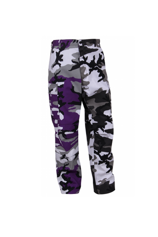 Two-Tone Camo BDU pants -  Ultra Violet/City