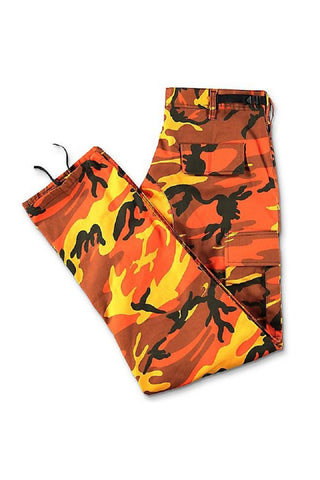 Camo BDU pants - Savage Orange – Desired Empire cebf9c4c0e4