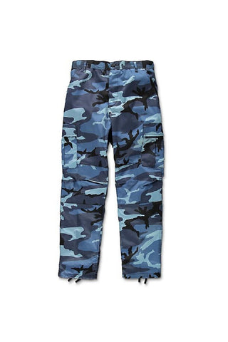 Camo BDU pants -  Sky Blue