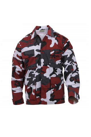 Camo BDU Shirt - Red