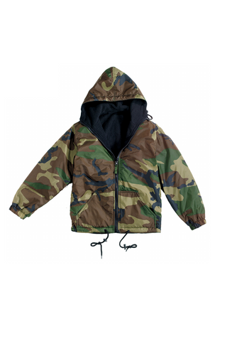 Reversible Lined Camo Jacket