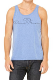 Ice Blue Tank Top -  Diamond Collection