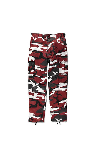 Camo BDU pants -  Red