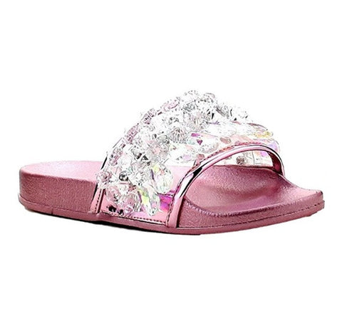 Chandelier Slides - Rose