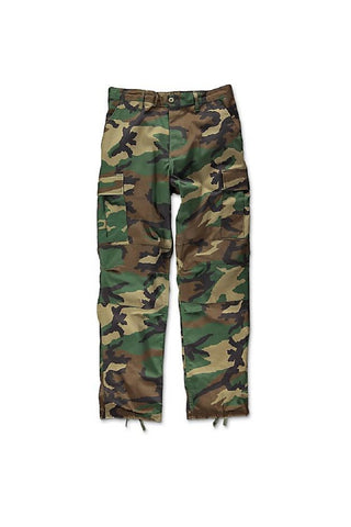 Camo BDU pants -  Woodland