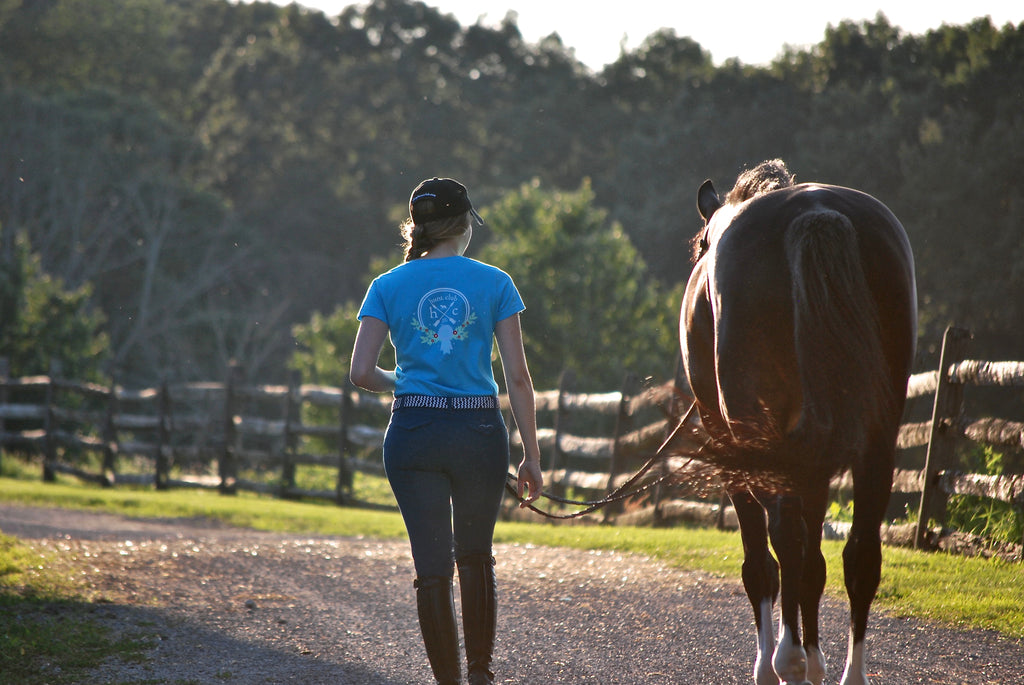 Horse Rider Equestrian Fashion Hunt Club