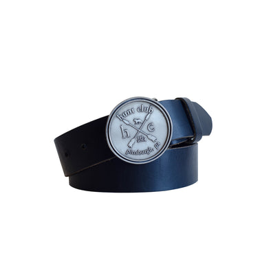 The Classic Logo Belt - Black Leather