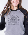 Unisex Roamers Sweatshirt - Grey Black