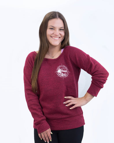 Women's Course Walk Sweater - Cardinal
