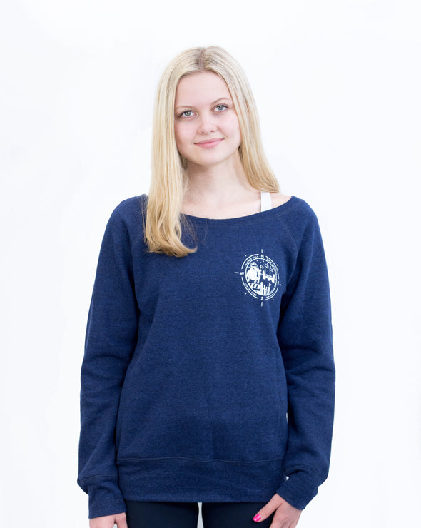 Women's Course Walk Sweater - Navy