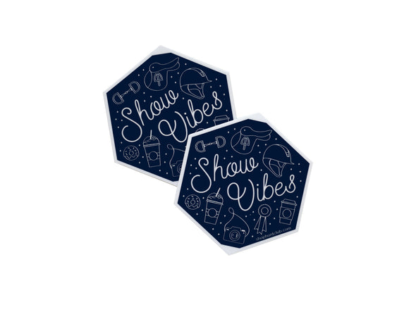 Vinyl Show Vibes Decal 2-Pack