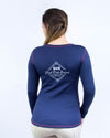 Women's Heritage Reversible Tee - Navy