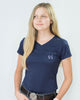 Women's Essential Pocket Tee - Navy