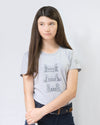 Women's Grab Mane Tee - Pebble