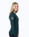 Women's Long Sleeve Essential Pocket Tee - Pine Grove