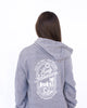 Seek Adventure Hoodie - Heather Grey
