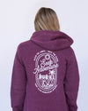 Seek Adventure Hoodie - Currant