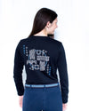 Women's Jump Crew Long Sleeve - Black
