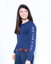 Lady Riders Long Sleeve - Navy