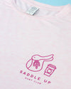 Saddle Up Bamboo Tee- Aurora
