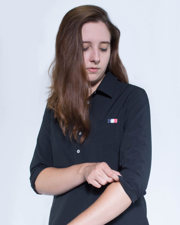 Women's Alba Work Shirt - Black