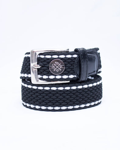 The Derby Belt - Black Leather Formal Attire