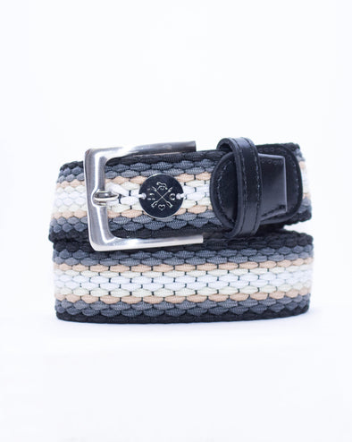 The Derby Belt - Black Leather Liftoff