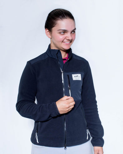 Women's Salto Fleece Jacket - Black
