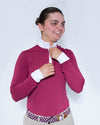 Women's Sterling Show Shirt - Bordeaux