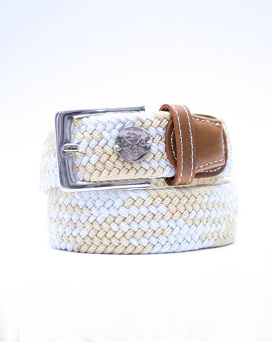 The Derby Belt - Cremello