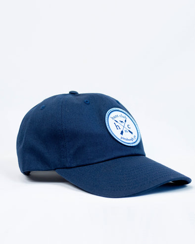 Logo Patch Baseball Hat - Navy