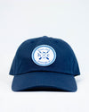 HC Logo Patch Baseball Hat - Navy