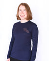 Take The Reins Charity Tee - Navy Long Sleeve