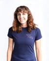 Take The Reins Charity Tee - Navy Short Sleeve