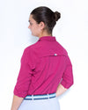 Women's Alba Work Shirt - Sangria