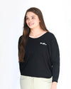 Vuelta Long Sleeve Tee - Black