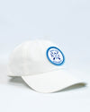 HC Logo Patch Baseball Hat - White