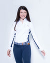 Women's Sterling Show Shirt - White/Navy