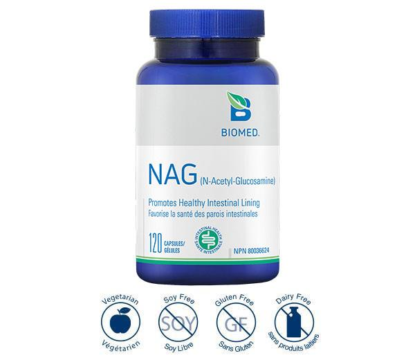 NAG 120 Caps - Gastrointestinal, Musculoskeletal