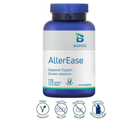 AllerEase 120 Caps - Allergies
