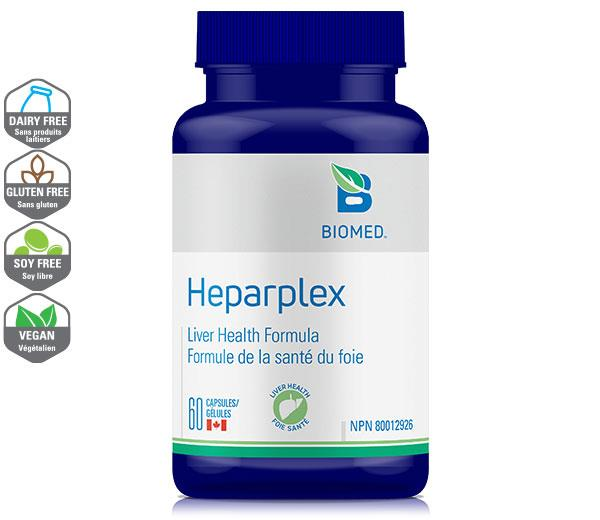 HeparPlex 60 Caps - Liver Support
