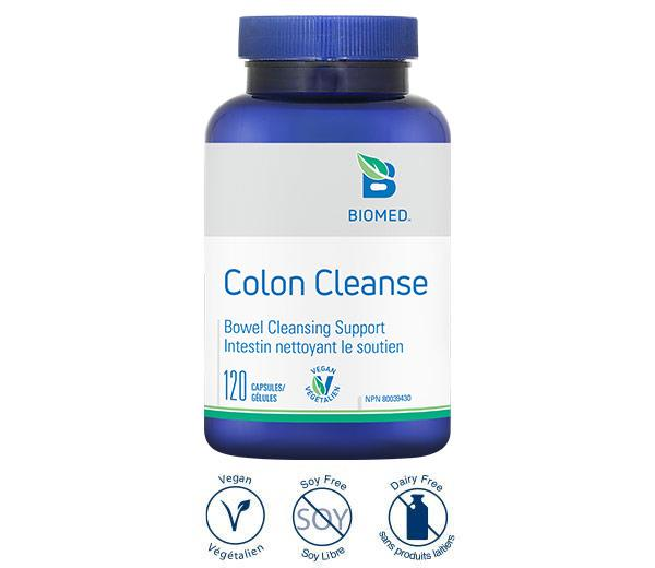 Colon Cleanse 120 caps - Intestinal Health, Bowel Cleanse, Constipation
