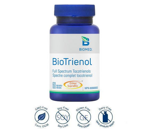 BioTrienol 60 caps - Neuroprotection, Brain and Cognition