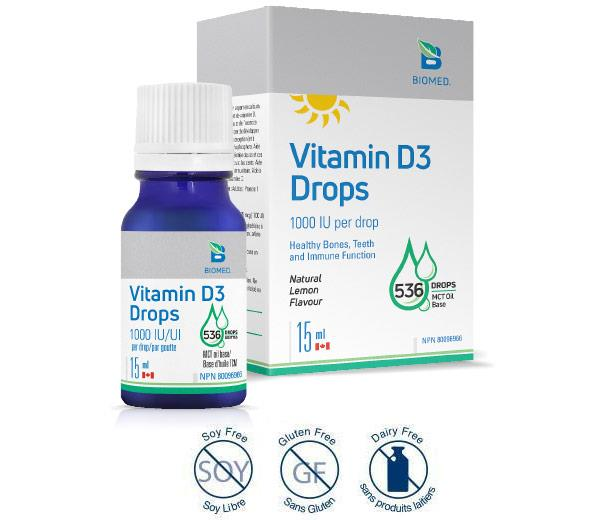 Vitamin D3 Drops 15ml