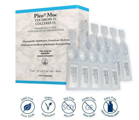 Pleo Muc Eye Drops 5X